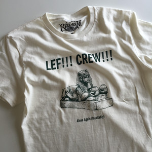 "LEF!!! CREW!!! ""Alone Again (Inevitably)"" Tee -Limited-"