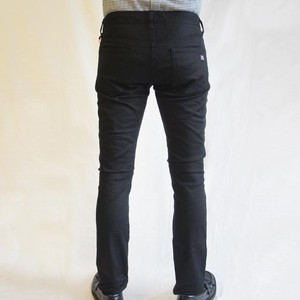 ストレッチ・カツラギ・5ポケット・パンツ  BLACK