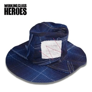 Working Class Heroes Bohemian Hat PW -Nel Navy