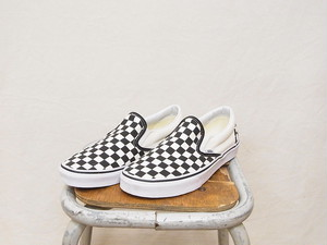 VANS Classic Slip-On / BLACK and WHITE Checker