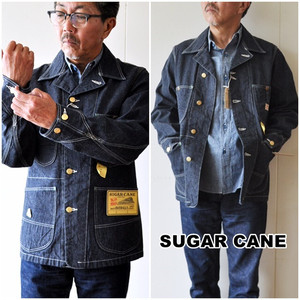SUGAR CANE シュガーケーン デニムカバーオール SC14371  デニムジャケット
