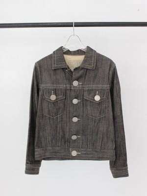 Used beauty:beast Big botão Denim jacket