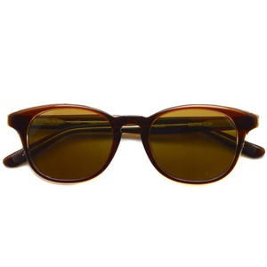 BOSTON CLUB ボストンクラブ / MICKEY Sun / 02 Brown Clear - Brown Lenses ブラウンクリア-ブラウンレンズ ウェリントンサングラス