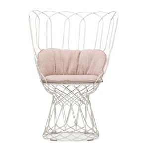 emu-RE-TROUVÉ HIGH BACK CHAIR-SW with seat+back cushion