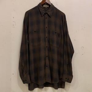 80's Ombre Check Rayon Shirts