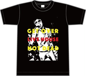 [LIVE HOUSE NOT DEAD Tシャツ BLACK ]