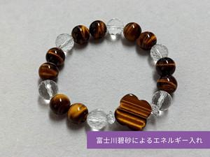 金運アップ・パワーストーンブレスレット(富士川碧砂によるエネルギー入れ)