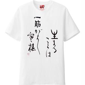 破体HATAI書『寒椿』オリジナルTシャツ
