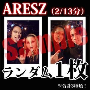【チェキ・ランダム1枚】ARESZ(2/13分)