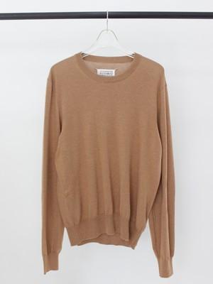 Used Maison Margiela elbow patch knit