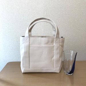 (受注生産)「シンプルトート」「生成り」帆布トートバッグ 倉敷帆布8号