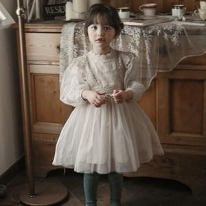 【先行予約】『puella FLO』Dia mesh dress-OPS