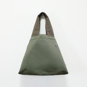 小さい仲間のナイロンさんかくバッグⅡ/モスグレー