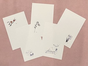 京都癒しの旅ポストカード・安藤加恵デザイン【冬②20】