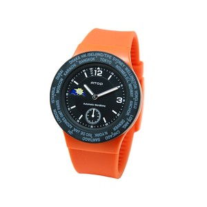 WORLD TIME WATCH【ORANGE】