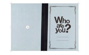 舞台「Who are you?」公演パンフレット