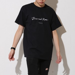 SIMPLE LOGO TEE(BLACK)