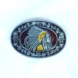 インディアン ネイティブ 部族 トライバル バックル ベルト 単品 1319