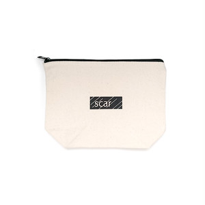 scar /////// BLACKBOX DAILY POUCH (Medium) (Natural)