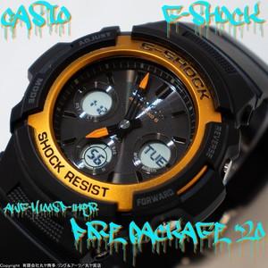 カシオ:G-SHOCK/AWG-M100SF-1H4JR/FIREPACKAGE'20/GSHOCK/Gショック/ジーショック