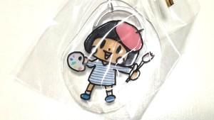 【ランダム】手作りプラバンキーホルダー