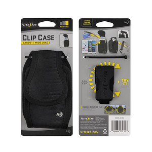 NITE IZE - CLIP CASE CARGO XL (Black)