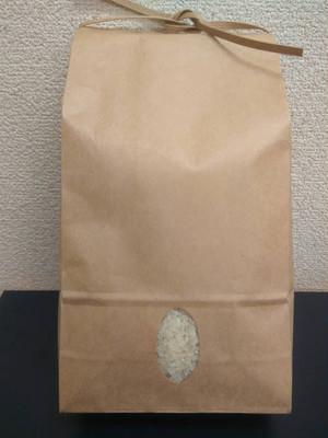 佐渡無農薬  無肥料米 白米 5kg