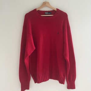 Polo Ralph Lauren Red Knitwear