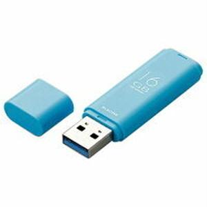 エレコム キャップ式USB3.1 Gen1メモリ(16GB) オリジナル ブルー MF-TKU3016GBU