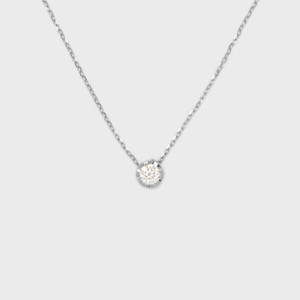 ENUOVE NOTTE Diamond Necklace Pt950(イノーヴェ ノッテ 0.3ct ダイヤモンドネックレス プラチナ950 スライドアジャスターチェーン)
