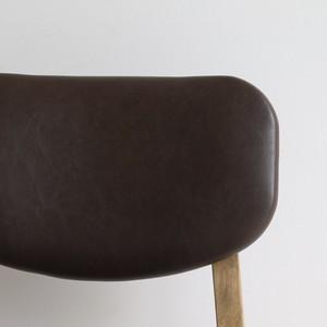 [ Rasic ]Chair BR / ヴィンテージスタイル ダイニングチェア
