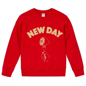NEW DAY Sweat<Red>
