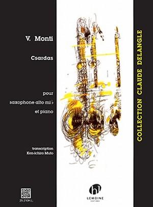 モンティ:チャルダッシュ/アルトサクソフォーン・ピアノ