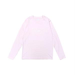 scar /////// OG KIDS L/S TEE (Light Pink) 5.3oz