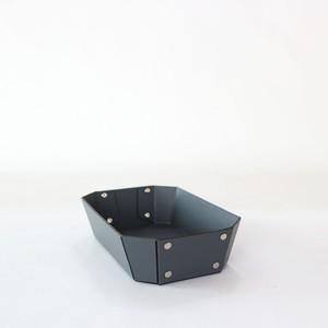 concrete craft 8_TRAY Sサイズ グレー( W20 × D12 × H4.5cm) パスコ トレー ステーショナリー 機能性 収納雑貨 スタッキング