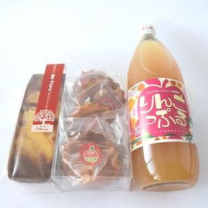【お中元用】大鰐高原りんごのスイーツ・ジュースセット