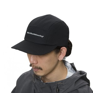 WM EMBROIDERED OXFORD JET CAP - BLACK