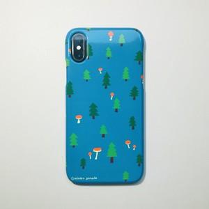 iPhoneケース『きのこ森』受注生産