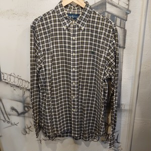 Ralph lauren check design BD shirt