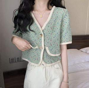 mini flower cardigan [2105-1]