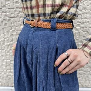 (LOOK) design denim pants