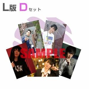 5枚組L版生写真【D】