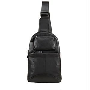 Vintage Black Bag Soft Leather Message Bag ブラック レザー 天然 ビンテージ (YYB99-8298693)