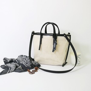 CECILY SMALL SHOULDER BOA / black leather【MORROW】