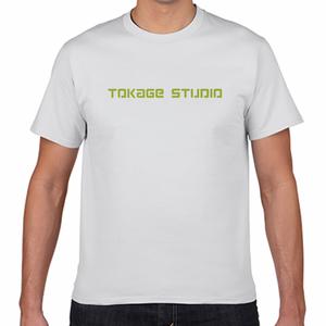 トカゲスタジオ Tシャツ 白