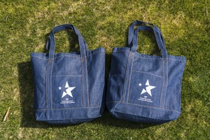 star indigo TOTE  BAG(大)