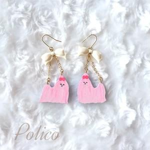 【POLICO (P)】マルチーズピアス