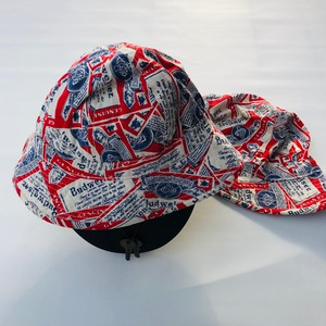 バドワイザー 総柄ハット BUDWEISER BEER REPLICA BUCKET HAT 59-60cm