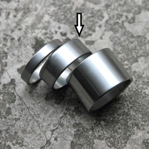 *NITTO* cr-mo spacer 1-1/8 (dull/10mm)