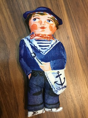 Nathalie Lete Doll Sailor